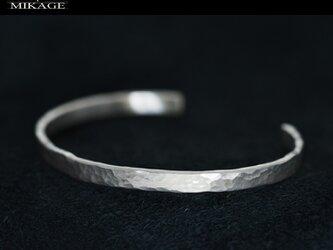 The Simplest Bangle:銀925シンプルなバングル(御影宝飾工房)の画像