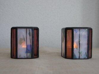 防人の灯り(優香・キャンドルスタンド2個セット)の画像
