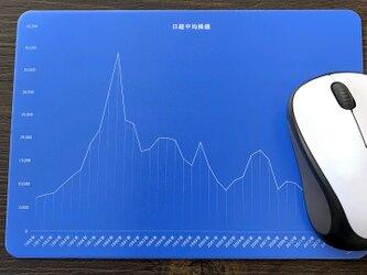 マウスパッド♪日経平均株価の画像