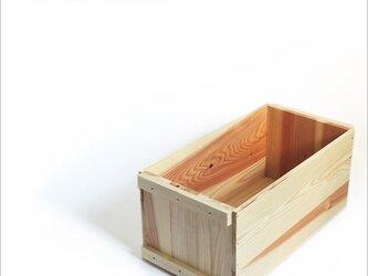 木箱*りんご箱*mini*新品*蓋なしの画像