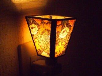 ウィリアムモリスののおやすみランプ【受注制】の画像