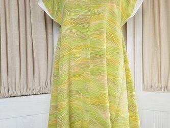 ♡アースカラーを身に纏う♡チュニック♡着物リメイクの画像