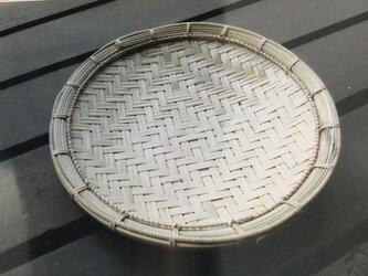 マス目網代編みザル盆の画像