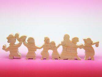 送料無料 木のおもちゃ 金のガチョウの画像
