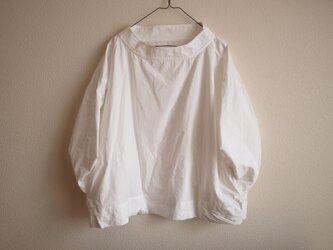 TW ハイネックブラウス *ホワイト* size FREEの画像