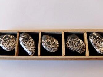 花籠箸置きセットの画像
