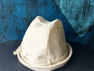 LINEN ROPE HELMA HAT | OFFWHITE【M】の画像