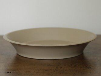 蝋石深皿(白漆)の画像