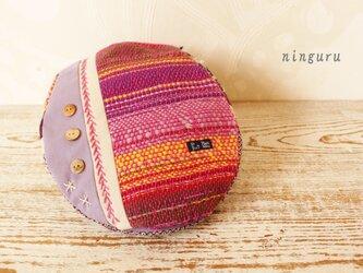 美しい手織り生地のハンチングの画像