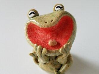 大笑いカエル Cの画像