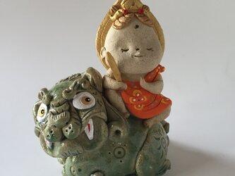 文殊菩薩 十二支お守り本尊「卯年」の画像
