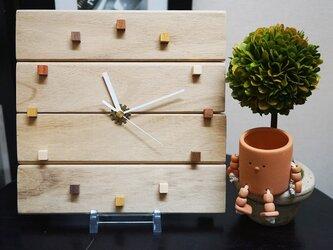 木の時計【ナチュラルカントリー・アンティーク調】バレンタインにも♪の画像