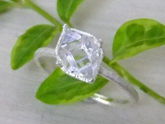 NYハーキマーダイヤ*925ringの画像