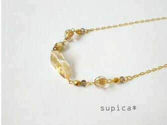 s62_GN400 シャンパンゴールド ネックレスの画像