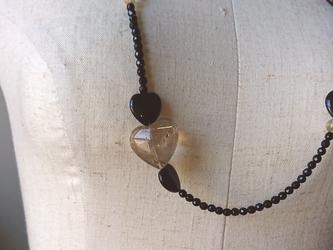 ハートルチルのネックレスの画像