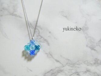 【おすすめ】アロマペンダント 紫陽花 2018水色の画像