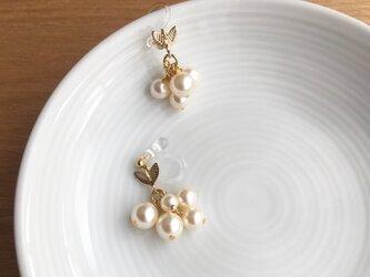 pearl earring/pierceの画像