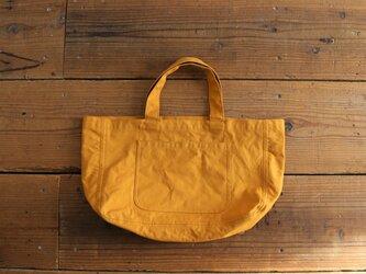 hanpu A4-tote : mustard :の画像