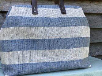Boston bag  L size [Växbo Lin]の画像