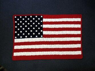 星条旗のブランケットの画像