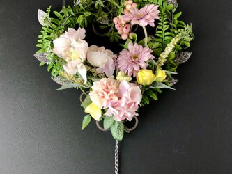 Flower wall hanging Bellの画像