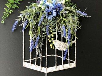 ご新築ご開店お祝い♡壁掛けフック 小鳥の画像