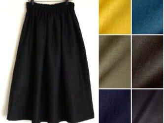 ヨーロッパリネン 全6色 スカートの画像