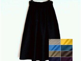 ヨーロッパリネン 全9色 スカートの画像