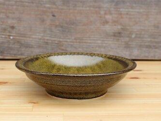 茶色の器 便利のお皿[18May-19]《釉薬》の画像