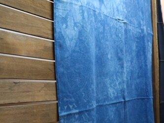 藍染めマルチカバー:まだら柄の画像