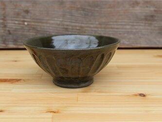 緑茶色の器 お茶わん[18May-22]《釉薬》の画像