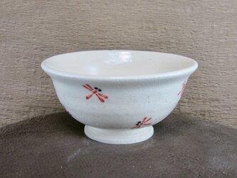 陶器ご飯茶碗(中)赤とんぼづくし(2)の画像