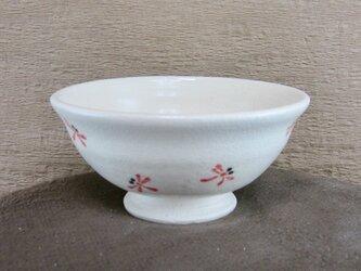 陶器ご飯茶碗(中)赤とんぼづくし(3)の画像