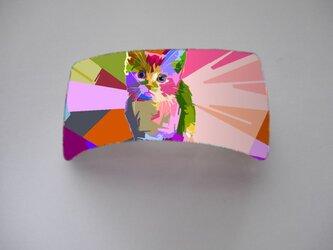 アートバレッタ(四角)(アート)【送料無料】の画像