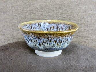 ひとくち茶碗 朝鮮唐津風 茶・白の画像