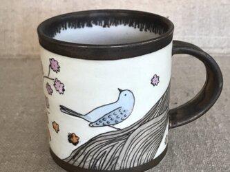 鳥のマグカップの画像