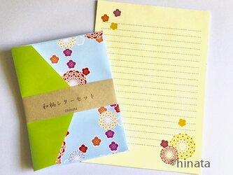 和柄のレターセット(便箋&封筒)2の画像