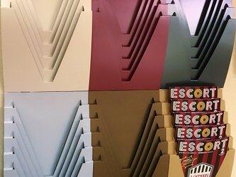 エコでアートなデザインラック-JAVARACK(ジャバラック)/2個セット/壁掛け-床置き可能の画像