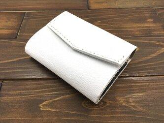 お札を折らずに入れられる極小ミニミニ財布Mサイズ【ゴートレザー】の画像