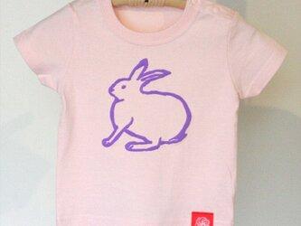 アイシングクッキーTシャツ ウサギ90サイズの画像