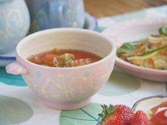 いっちん手つきスープボール-ブルー-の画像