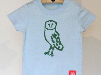 アイシングクッキーTシャツ フクロウ80サイズの画像