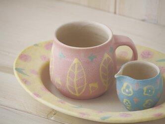 いっちんマグカップ・ハニーポット-ピンク-の画像