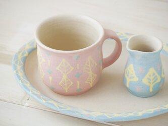 いっちんマグカップ・ストレート-ピンク-の画像