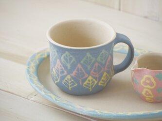 いっちんマグカップ・ストレート-パープル-の画像