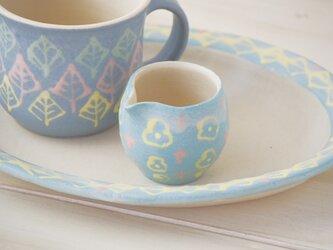 いっちんマグカップ・クリーマー-ブルー-の画像