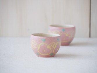 いっちん豆小鉢(丸)-ピンク-の画像