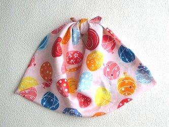 あづま袋 あずま袋(大)水風船 ピンク色 ファスナー無しバッグ・かごバッグにもの画像