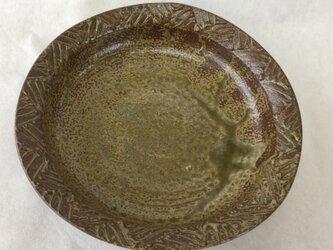 陽刻リム皿の画像