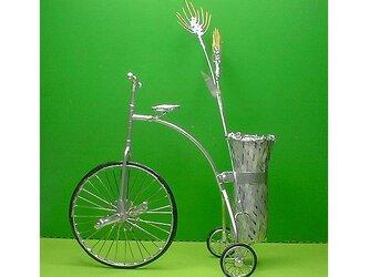 古式働く三輪・自転車模型/麦2号の画像